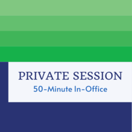 Private Session 50-Minute In-Office