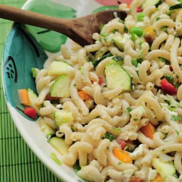Pictured: Chicken Pasta Salad